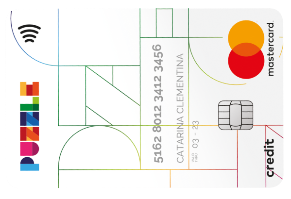 Cartão de crédito Puzzle