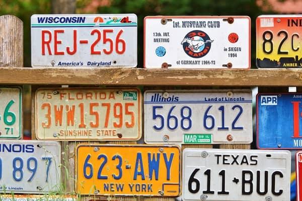 Como saber o mês e o ano de determinada matrícula automóvel