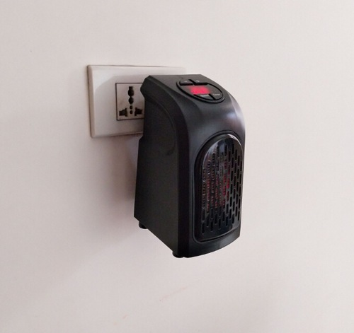 Mini Aquecedor Elétrico de parede