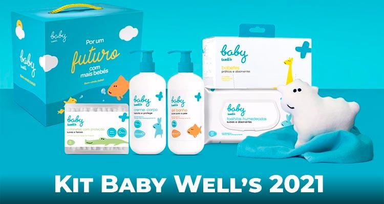 Kit Baby Well's para bebê e para a mãe