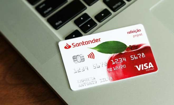 Como funciona o Cartão Refeição Santander