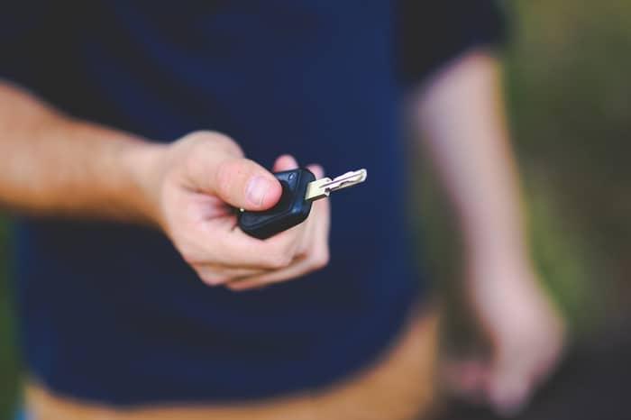 Quanto é que custa fazer a cópia de uma chave automóvel