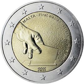 Moeda de Malta de 2011