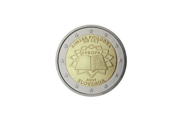 Moeda de Eslovénia de 2007