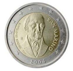 Moeda de São Marino de 2004