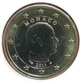 Moeda do Mónaco de 2011