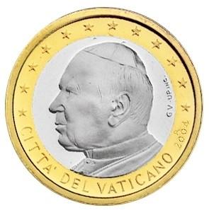 Moeda do Vaticano de 2004