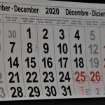 Dias Consecutivos, conta o Sábado e o Domingo