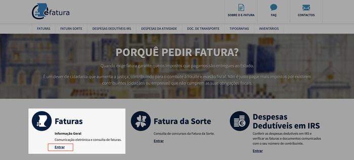 Portal E-fatura