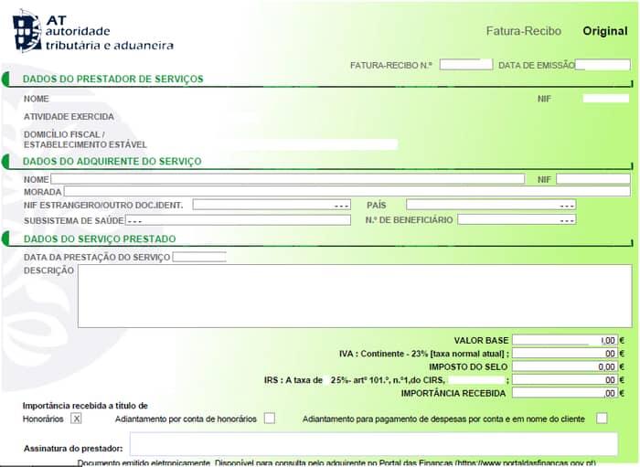 IRS a recibos verdes: Como funciona e quem deve passar?